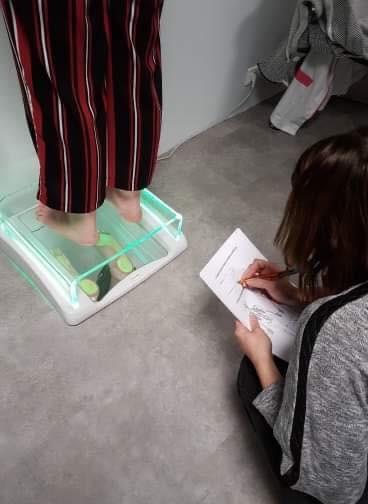 Examen podoscope